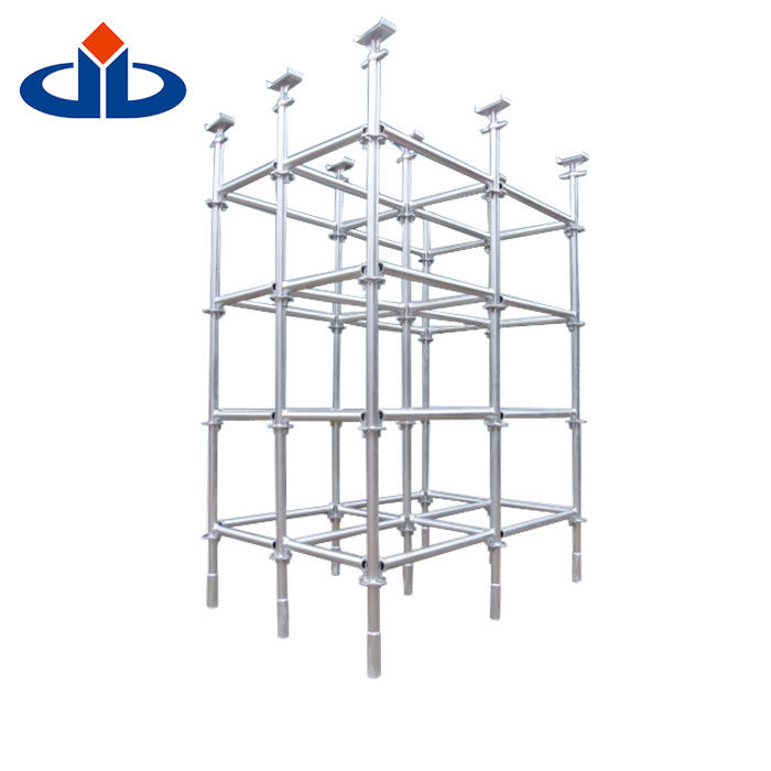 Safety Metal Ringlock Scaffold System Build Jack Scaffolding Self - Locking
