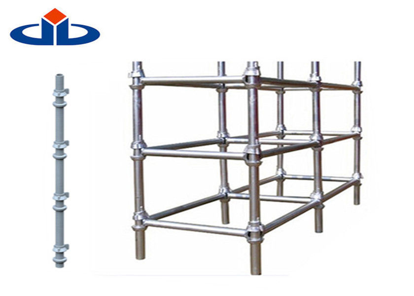 Q345 Steel Cuplock Scaffolding System Ringlock Scaffolding Ledger 3.2mm Thickness